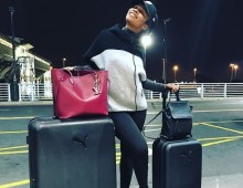 Nomzamo Mbatha jets off to New Jersey to host BET's