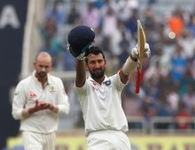Pujara double ton puts India in charge