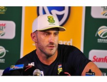 Faf: I take full responsibility for AB's run-out