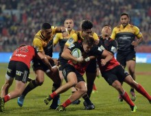 Crusaders sink Hurricanes to stay unbeaten