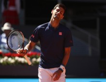 Djokovic no match for Nadal on clay