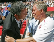 Mourinho: Fergie welcome in the dressing room