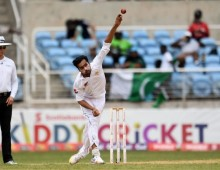 Amir completes five for on rain ruined day