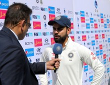 Kohli pleased with the effort