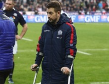 Laidlaw to miss rest of Six Nations