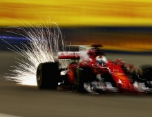 Vettel 'lucky to recover'