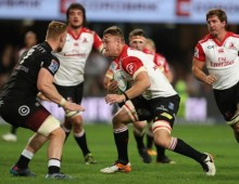 Lions overpower the Sharks to finish top