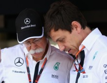 Zetsche's first thought: Not Lewis again