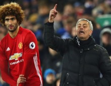 Mourinho plays down Fellaini injury fears