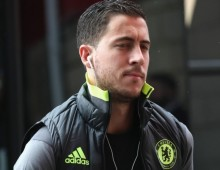 Hazard could miss derby date with Palace
