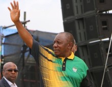 Ramaphosa delivers a lecture on time